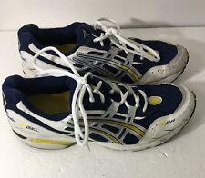 Men's Asics Men Gel-1090 (white / blue / yellow) shoes