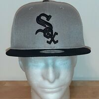 New Era Chicago White Sox 9Fifty  Snapback Cap Black/Gray OSFM
