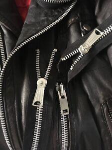 Zipper Vintage Aluminium #10 Big Vtg Zippers size no. 10 YKK TALON ZIPPER