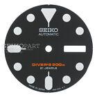 SEIKO Japan Watch Dial f/ SKX007 SKX171 SKX173 7S26 NH36 Black w/ Round Markers