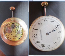 mi chronometre movimento movement manual old watch parts tige dial 38,5 vintage
