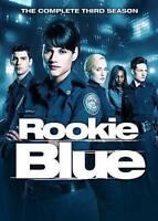 ROOKIE BLUE SEASON 3 DVD  --- NEW IN PLASTIC w/ SLIPCASE - I Ship BOXED