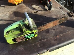 Poulan Micro XXV Chainsaw Breaking For Parts - NOT COMPLETE CHAINSAW FOR 99p