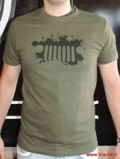 T-shirt Jeep ufficiale verde
