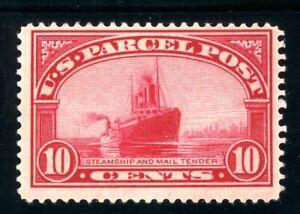 USAstamps Unused FVF US 1913 Parcel Post Steamship Scott Q6 OG MHR
