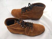 Wolverine 1000 Mile Rockford Boots Men's 8D Brown Leather Welt Vibram Sole New