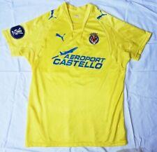 PUMA Football soccer jersey Villarreal CF JAVI VENTA  MATCH WORN