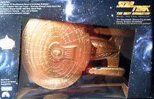 Star Trek Tng 7th Anniversary Gold Enterprise