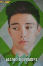 MARIO NOVEMBRE - A3 Poster (ca. 42 x 28 cm) - Clippings Fan Sammlung NEU