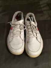 MENS TRUE LINKSWEAR  White Golf Shoes Size 10, Leather Upper Gh7