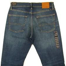 Lucky Brand Jeans Mens 221 Original Straight SIZE 33 x 32 DARK BLUE W / STRETCH