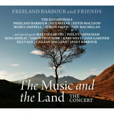 Freeland Barbour and Friends : The Music and the Land CD (2016) ***NEW***