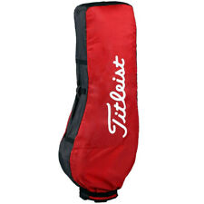 New listing Titleist Air Flight Travel Cover Golf Tour Caddy Carry Cart Bag (Red)
