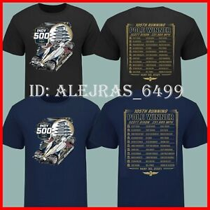 LIMITED!!! 2021 Indy 500 Starting Field T-shirt Black, Navy All Size USA