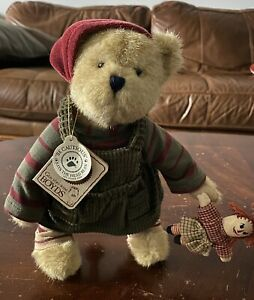 Boyds Bears Mindy P. Elfbeary With Raggedy Ann Doll