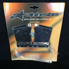 Vintage Alpinestars Replacement Insole Inserts Size 5-8 Motocross Boots Tech 7