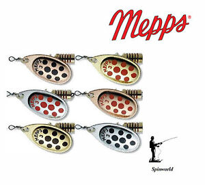 Mepps Aglia  Decorees VARIETY COLOURS  AND SIZES            1st class post