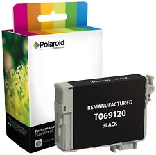 Cartucho de tinta negra T069120 Polaroid Pro Lote De 3 Epson 69 Remanufactured