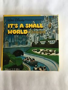 Walt Disney It's A Small World at Disneyland Super 8 Home Movie, RARE