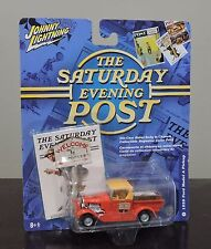 NEW ON CARD JOHNNY LIGHTNING SATURDAY EVENING POST 1929 FORD MODEL A PICKUP
