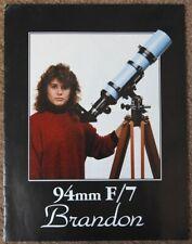 Old Brandon 94 and Vernonscope Telescope and Eyepiece Literature Astronomy