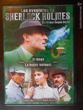 DVD LAS AVENTURAS DE SHERLOCK HOLMES - EL MAGO - LA BANDA MOTEADA (4L)