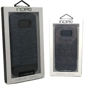 INCIPIO Esquire Series Wallet Case Soft Fabric Gray Case for Samsung Galaxy S8+