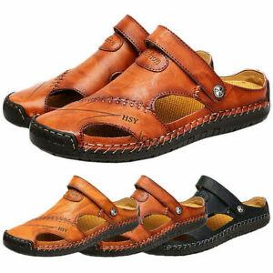 Herren Sandalen Pantoletten Clogs Hausschuhe Slipper Crocks Schuhe Badelatschen