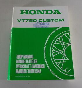 Manual de Taller/Taller Manual Honda VT 750 Custom Stand 1987
