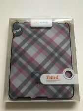 IPad 1st Gen Genuine Speck Fitted Wrapped Shell Protective Hard Case Checker New