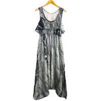 NEW KATIE HOSKING DESIGNER MAXI DRESS SIZE XS,S,M,L,XL RRP $199.00
