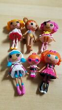 ~~~~ Lalaloopsy Mini Doll Lot Of 6 *Ace Bender, Mittens, Bea&Specs,more*~~~