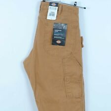 Dickies Relaxed Fit Carpenter Jeans in Camel Brown Work Trousers BNWT W34 L32