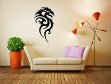 Wall Vinyl Sticker Room Decals Mural Design Art Tattoo Dragon bo113
