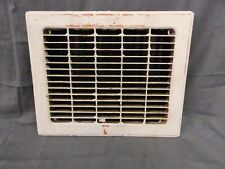 Antique Stamped Steel Heat Grate Register Vent Architectural Vtg 10x12 569-17P