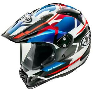 NEW Arai XD-4 Depart Motorcycle Helmet -  Blue Metallic from Moto Heaven