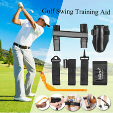 Golf Straight Swing Weight Arm Trainer Practice Training Aid Elbow Support Guide