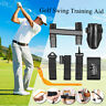 Golf Straight Swing Weight Arm Trainer Practice Training Aid Elbow Support