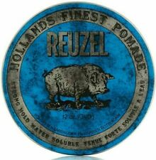 Reuzel Blue Strong Hold Water Soluble Pomade - 12oz