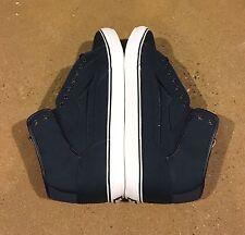 Lakai Guy Hi Lean Size 13 Navy Canvas BMX Skate Shoes Guy Mariano Lean Series