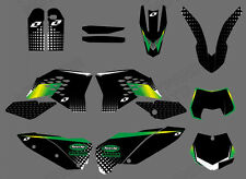 TEAM GRAPHICS & BACKGROUNDS DECALS Fit KTM SX SXF 2007 08 09 10 XC EXC 2008-2011