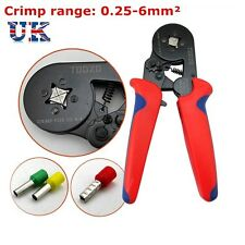 0.25-6mm² Sleeve-type Terminal Ferrule Crimper Crimping Tool Bootlace Wire End
