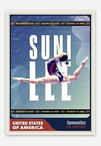 Sunisa Suni Lee United States USA Women's Gymnastics 2020 Olympics Trading Card