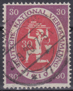 Germany Deutsches Reich 1920 Mi. Nr. 110c 30 Pf Opening Nat. Assembly USED INFLA