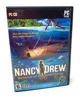 Nancy Drew: Ransom of the Seven Ships (2009) PC CD-ROM Game