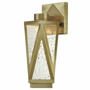 Outdoor Wall Light Fixture Ackerly 8.25'' H Integrated LED Glass Exterior House