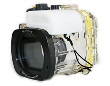 40M Underwater Diving Waterproof Housing Case for Canon G16 18-55MM Lens WP-DC52