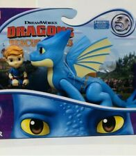 Netflix DRAGONS RESCUE RIDERS WINGER & DAK FIGURE w/ Sound Action TOY HTF