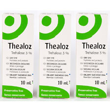 Thealoz Preservative Free Eye Drops for the Treatment of Dry Eye 10ml x 3