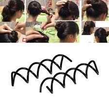 2Pcs Screw Clip Spiral Hairpins Spin Hair Twist Bobby Hair Pin Band Barrette A1F